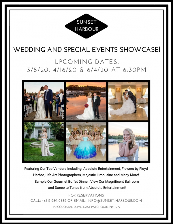 Wedding and Special Events Showcase!