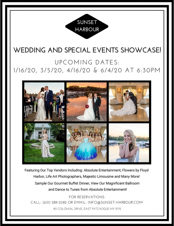Wedding and Special Events Showcase 2020